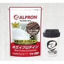 【ふるさと納税】アルプロン ホエイプロテイン 1kg【筋】セット 【加工食品・加工食品・アルプロン・ホエイプロテイン】