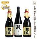 【ふるさと納税】玉櫻純米大吟醸しずく酒櫻風セット
