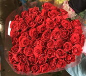 ふるさと納税】【2−09】愛する人へ「50本の薔薇」(赤)