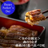 【ふるさと納税】<A85父の日限定森のうなぎ蒲焼(中)食べ比べ2尾>