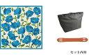 【ふるさと納税】ウオーク社 ふろしきハンドライトきせかえバッグセットS(ブリアンテス/ブルー)(ハンドル色:キャメル) 【かばん・トートバッグ・手提げ・ファッション・カバン・バッグ】 3