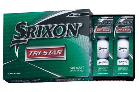【2604-1196】ダンロップゴルフボール スリクソン TRI-STAR 2ダース【色:ホワイト】※毎月末日迄にお申込み頂き且つご入金が確認できた件につき、翌月15日迄に発送