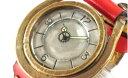 【ふるさと納税】HR24の手造り時計A(男女兼用)黄茶(から...
