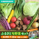 【ふるさと納税】安芸高田市の小さな農家お届けするふるさと旬野菜セット 【野菜類・セット・詰合せ・...