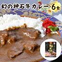 【ふるさと納税】幻の神石牛カレー 6食セット 送料無料 レト...