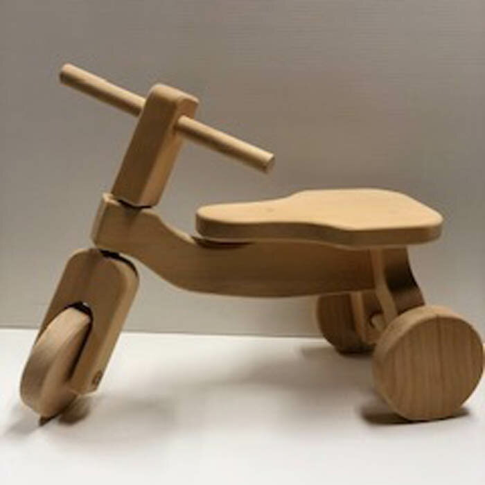 【ふるさと納税】木製三輪車