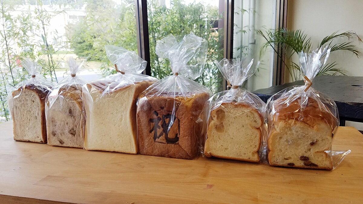 山口県田布施町の返礼品はパン屋さん、Yamaguchiの食パンセットです。祝食パン、美味しい食パンウォールナッツトースト、ぶどうパン、全粒パン、イギリスパンとバラエティに富んだラインナップ。毎日の朝ごはんが楽しみになりますよね。パン好きさんにはたまらない、返礼品のひとつです。