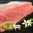 【ふるさと納税】大川原高原牛特選ロースステーキ500g