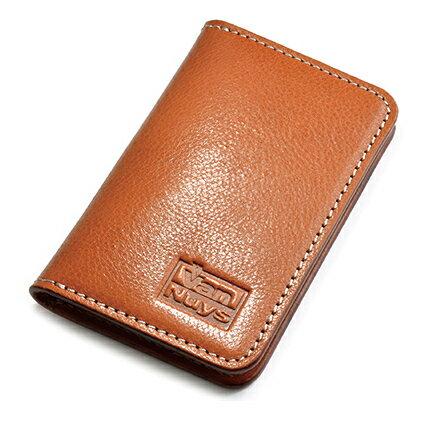 【ふるさと納税】ビンテージオイルレザーの薄型名刺ケース 【ファッション小物・ファッション・財布】