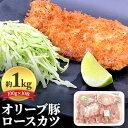 【ふるさと納税】オリーブ豚ロースカツ10枚セット 【お肉・豚肉】