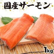 【ふるさと納税】さぬきさーもん1kgサーモン魚鮮魚産地直送送料無料