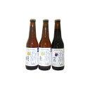 【ふるさと納税】優しい味わいのクラフトビール 3種くらべ 【地ビール・お酒・ビール・クラフトビール・酒・セット】