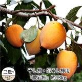 【ふるさと納税】干し柿・吊るし柿用 「愛宕柿」約13kg