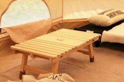 【ふるさと納税】土佐ひのきの折りたたみ キャンプテーブル KUROSONソロ 画像1
