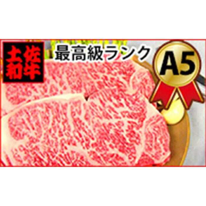 【ふるさと納税】土佐和牛A5特選サーロインステーキ200g×2枚セット 牛肉