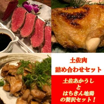 【ふるさと納税】土佐肉の詰め合わせセット 肉 魚 鶏肉 かつおのたたき 加工品 惣菜 冷凍 送料無料 <SZ063>