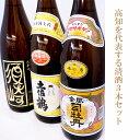 【ふるさと納税】高知を代表する清酒3本セット
