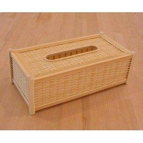 【ふるさと納税】21-166.四国産竹使用 ティッシュBOX