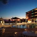 【ふるさと納税】リゾートホテル海辺の果樹園1泊2食付きペア利用(平日)ビップルーム宿泊券