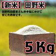 【ふるさと納税】平成29年産 田野米 5Kg 高知県田野町の農家さんが手塩にかけて育てた新米です。