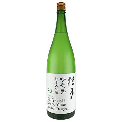日本酒(吟之夢純米大吟醸50) 1800ml