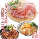 【ふるさと納税】土佐はちきん地鶏もも肉&海鮮丼の素セット 【