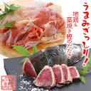 【ふるさと納税】土佐はちきん地鶏もも肉&藁焼き鰹のたたき片身