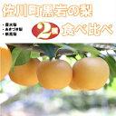 【ふるさと納税】佐川の梨 2種食べ比べセット【期間・数量限定...