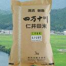 【ふるさと納税】Bti-072018年度産おいしい仁井田米のお店樽井商店のヒノヒカリ3kg