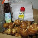 【ふるさと納税】[0544]自然栽培生姜セット(生姜、生姜しろっぷ、粉末生姜)