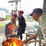 【ふるさと納税】[1014]新鮮なカツオで豪快な藁焼きタタキ体験