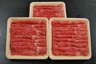 【ふるさと納税】HA39-R11 復刻!九州産黒毛和牛赤身スライス(もも・うで)900g