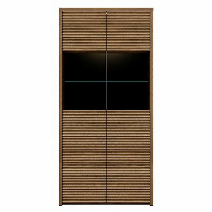 【ふるさと納税】天然木無垢家具コリーナ(キャビネット)80cm【ウォールナット】