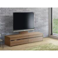 【ふるさと納税】◆天然木無垢材家具コリーナ(ローボード テレビ台・TVボード)★160cm:ウォールナット