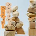 【ふるさと納税】知育教育おもちゃ「つみにっかー&つみやすかー」お片付け木箱付