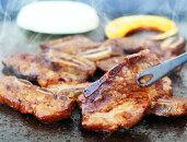 【ふるさと納税】本格炭火焼肉店の壺漬け骨付き牛カルビ&豚カルビ1.2kg
