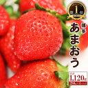 【ふるさと納税】博多あまおう 1120g 280g×4パック サイズ様々 訳ありではない あまおう いちご 苺 イチゴ 果物 フルーツ お楽しみ 送料無料 福岡県産・・・