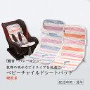 【ふるさと納税】龍宮 パシーマベビーチャイルドシートパット(暖色系)