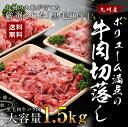 【ふるさと納税】国産 黒毛和牛 牛肉切落し 1.5kg 送料...