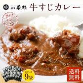 【ふるさと納税】【送料無料】博多牛すじカレー200gx9パック