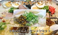 【ふるさと納税】Z134.九州ご当地ラーメン巡り(10食)