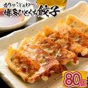 【ふるさと納税】Z100.福岡・博多の味『博多一口餃子』80...