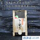 【ふるさと納税】【一等米】唐津市天川産 こしひかり(特別栽培
