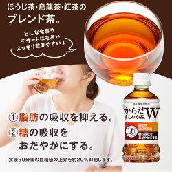 【ふるさと納税】16-02 からだすこやか茶W 350ml PET 2ケース 画像2