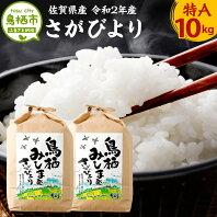 【ふるさと納税】10-103 佐賀県産さがびより 5kg×2袋 10kg