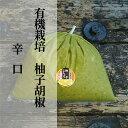 【ふるさと納税】b−182 銀座有名店使用の有機栽培柚子胡椒(ゆずこしょう)【青】【辛口】1kg