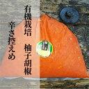 【ふるさと納税】b−183 銀座有名店使用の有機栽培柚子胡椒(ゆずこしょう)【赤】【辛さ控えめ】1kg