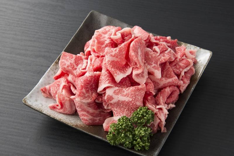 牛肉おすすめ:伊万里牛切り落とし800g