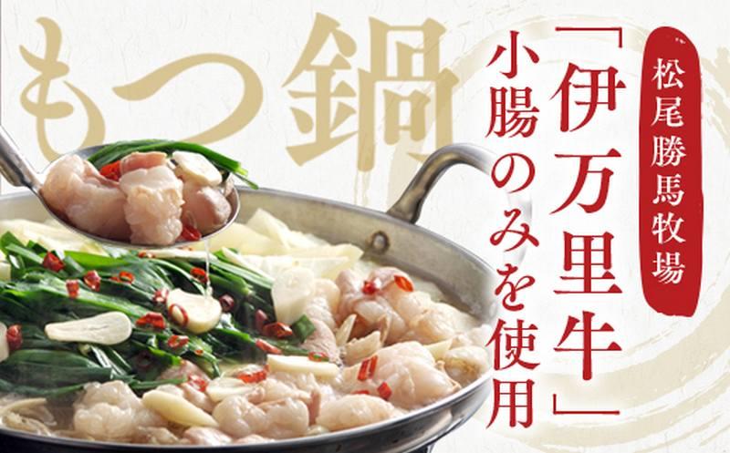 伊万里牛もつ鍋セット(ホルモン200g×3・スープ・麺・薬味・みそ牛ホルモン付き)