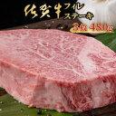 【ふるさと納税】佐賀牛ヒレステーキ(480g) 牛肉 希少部